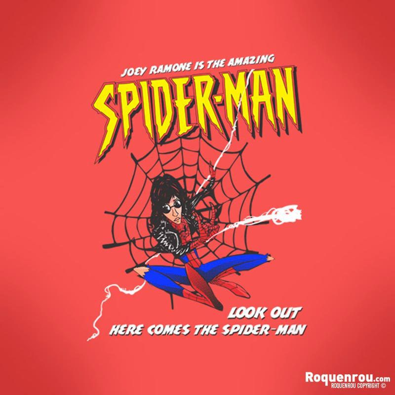 One track a day: SPIDERMAN by The Ramones