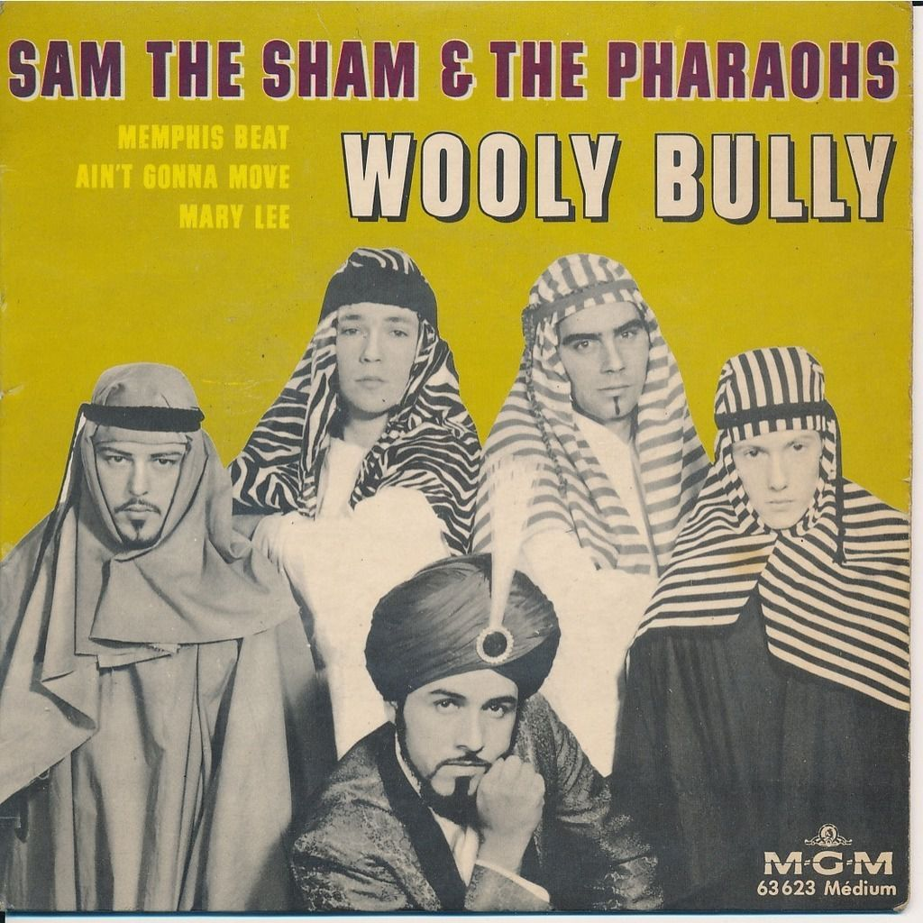 One track a day: WOOLY BULLY by Sam the Sham &amp&#x3B; The Pharoahs
