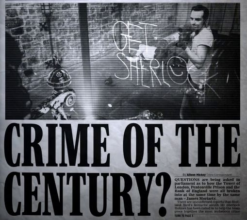 Bootleg: CRIME OF THE CENTURY by Bombskare