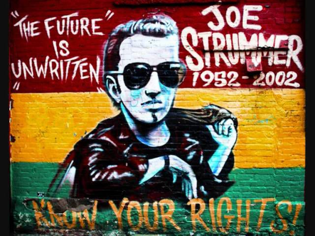 One track a day: THE MINSTREL BOY by Joe Strummer