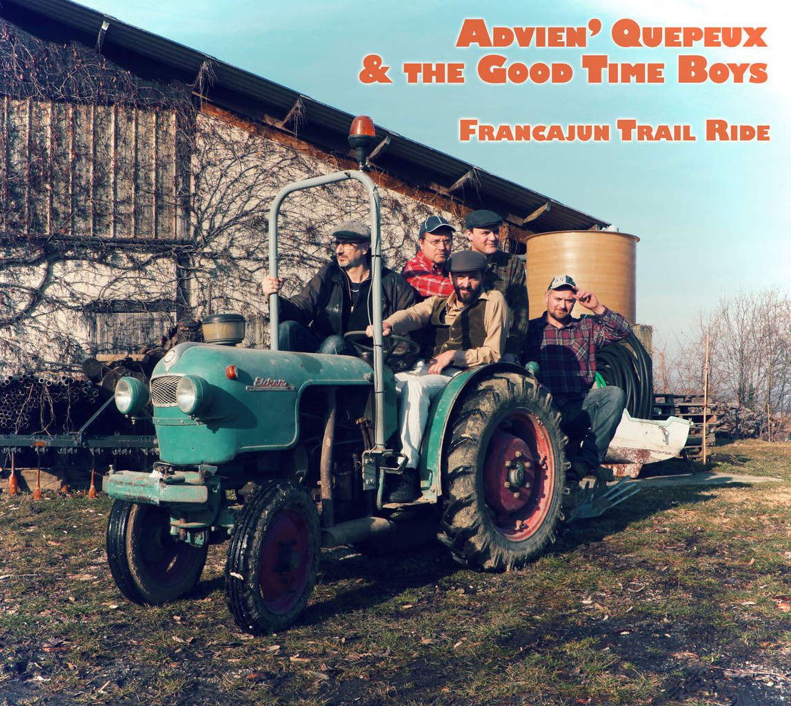 One track a day: HOMMAGE AUX RECOLTEURS by Advien' Quepeux &amp&#x3B; the Good Time Boys