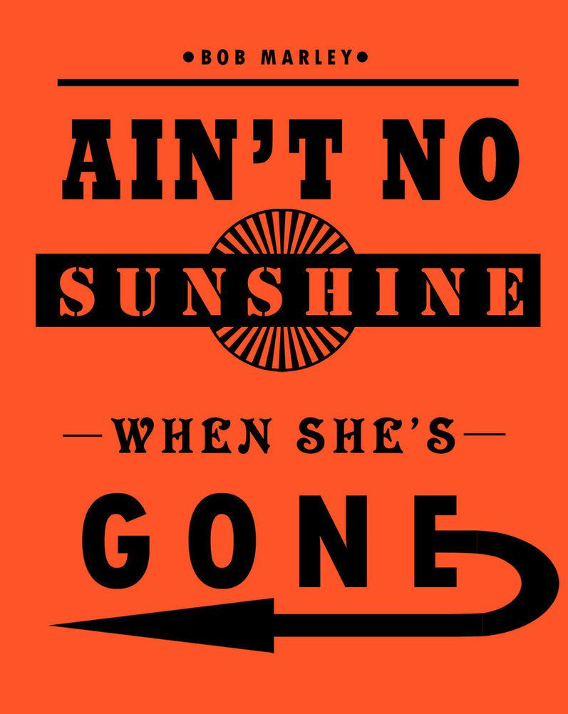 One track a day: AINT NO SUNSHINE by Ken Boothe