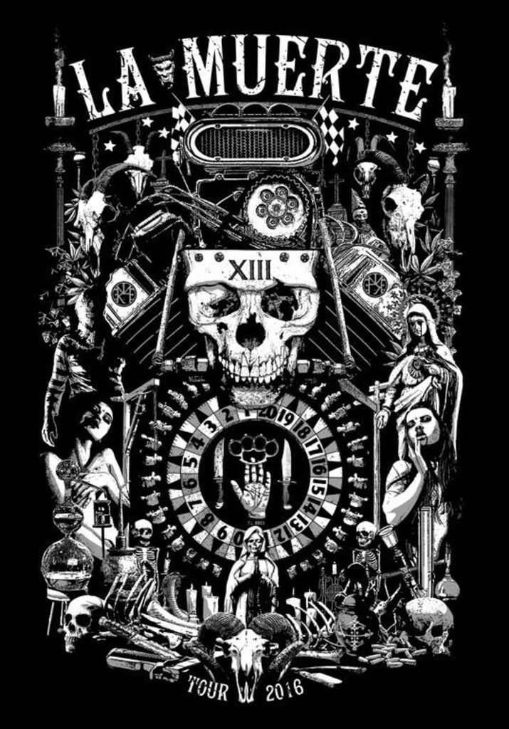 One track a day: EXPERIMENT IN TERROR by La Muerte