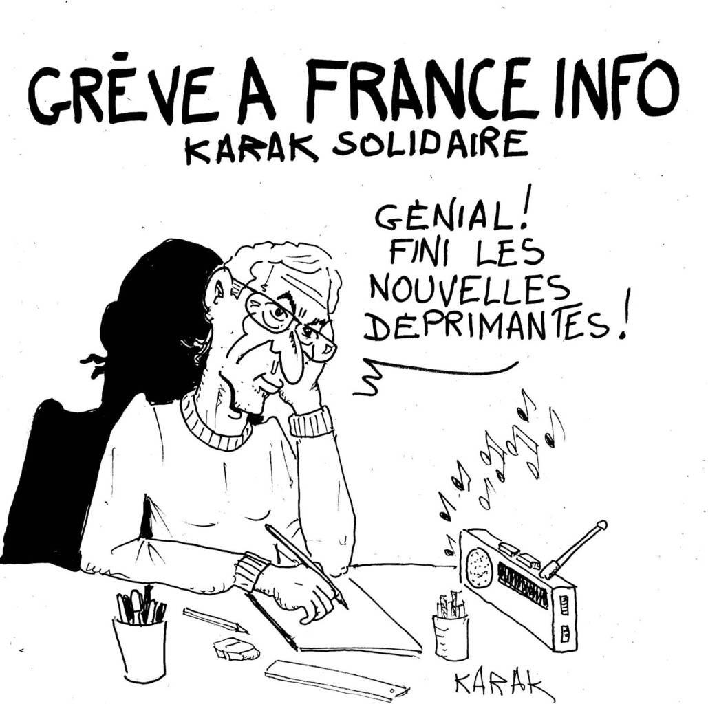 France Info: Tenez bon!