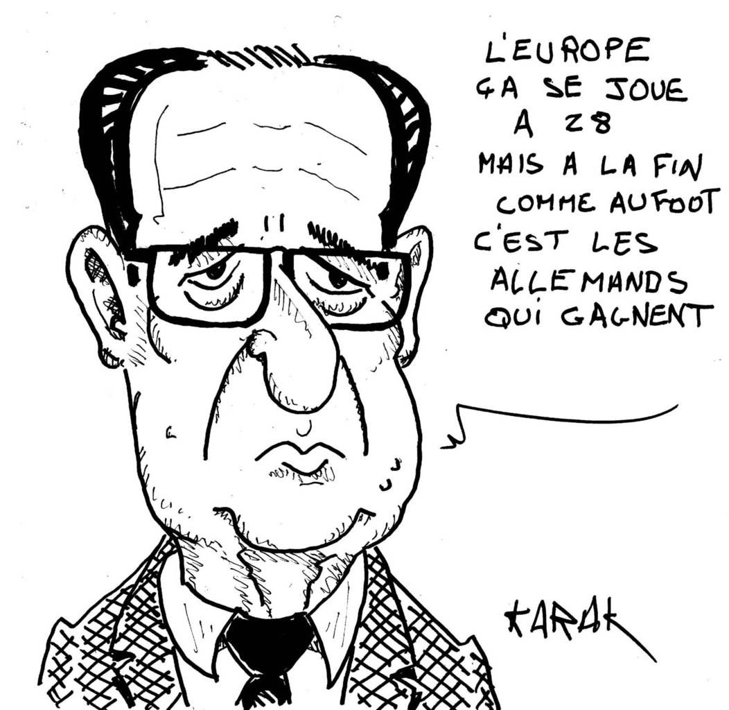 Hollande est en Europe