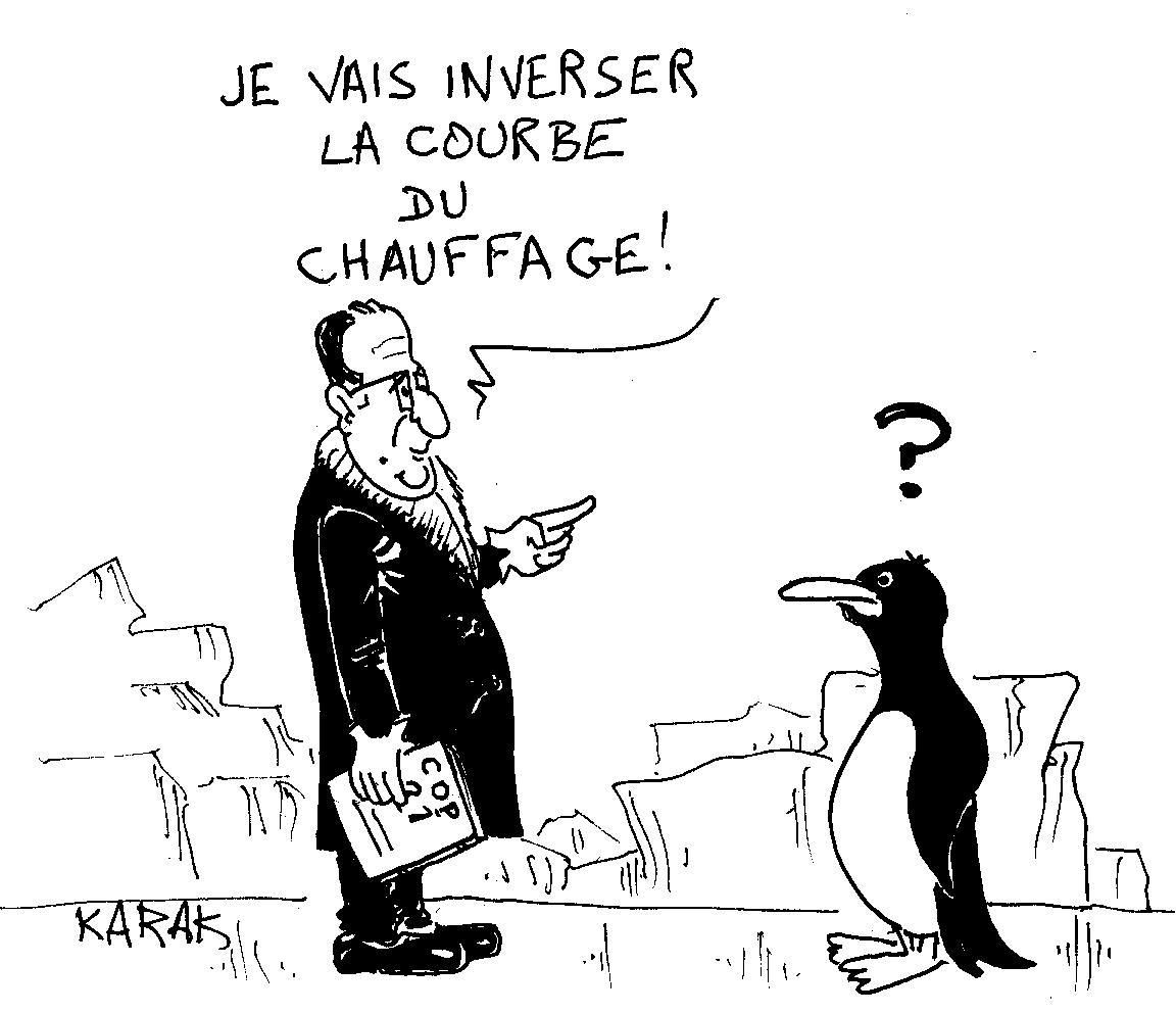 COP 21: Hollande jette un froid!