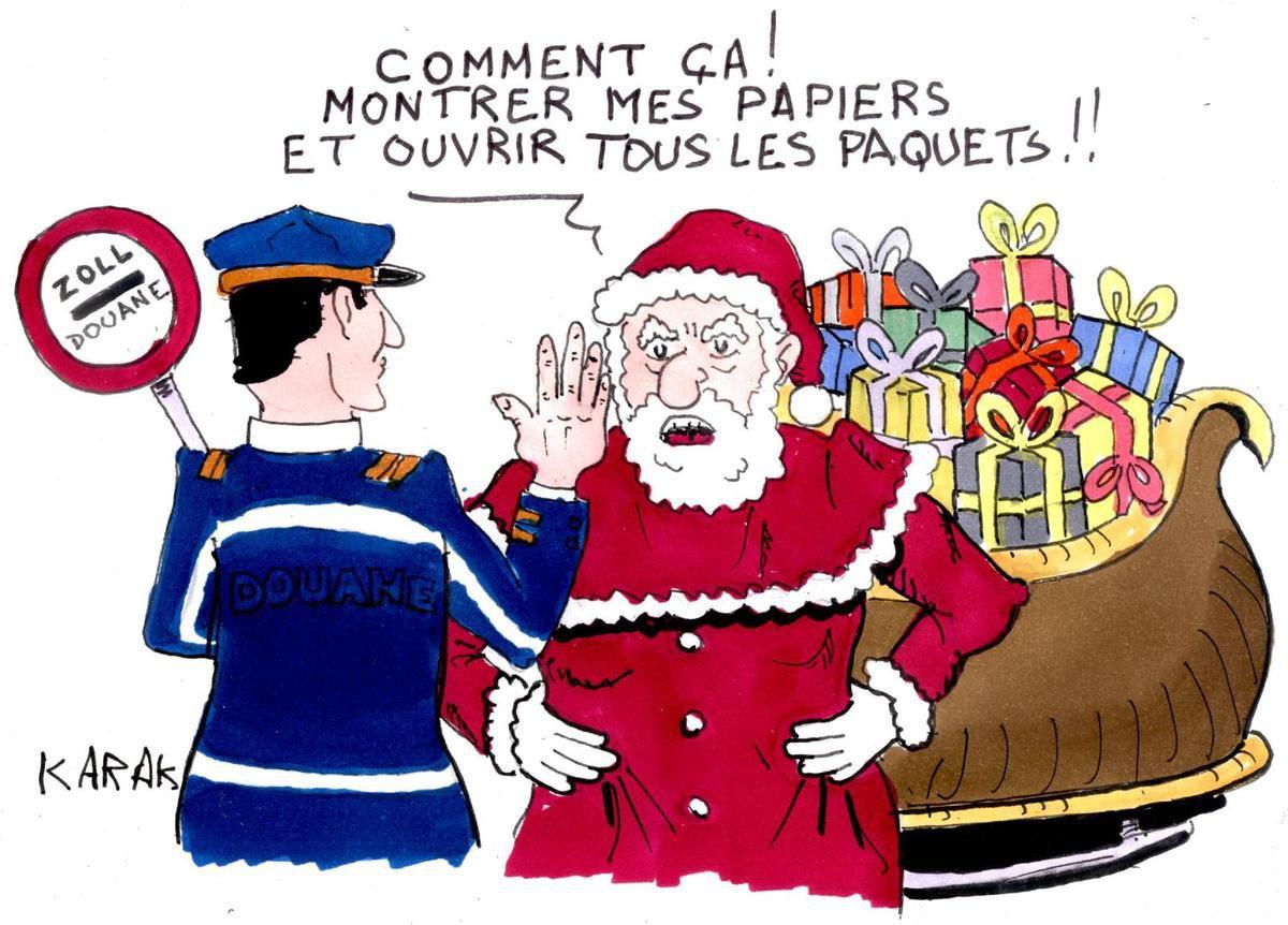 Le père Noël est-il terroriste?