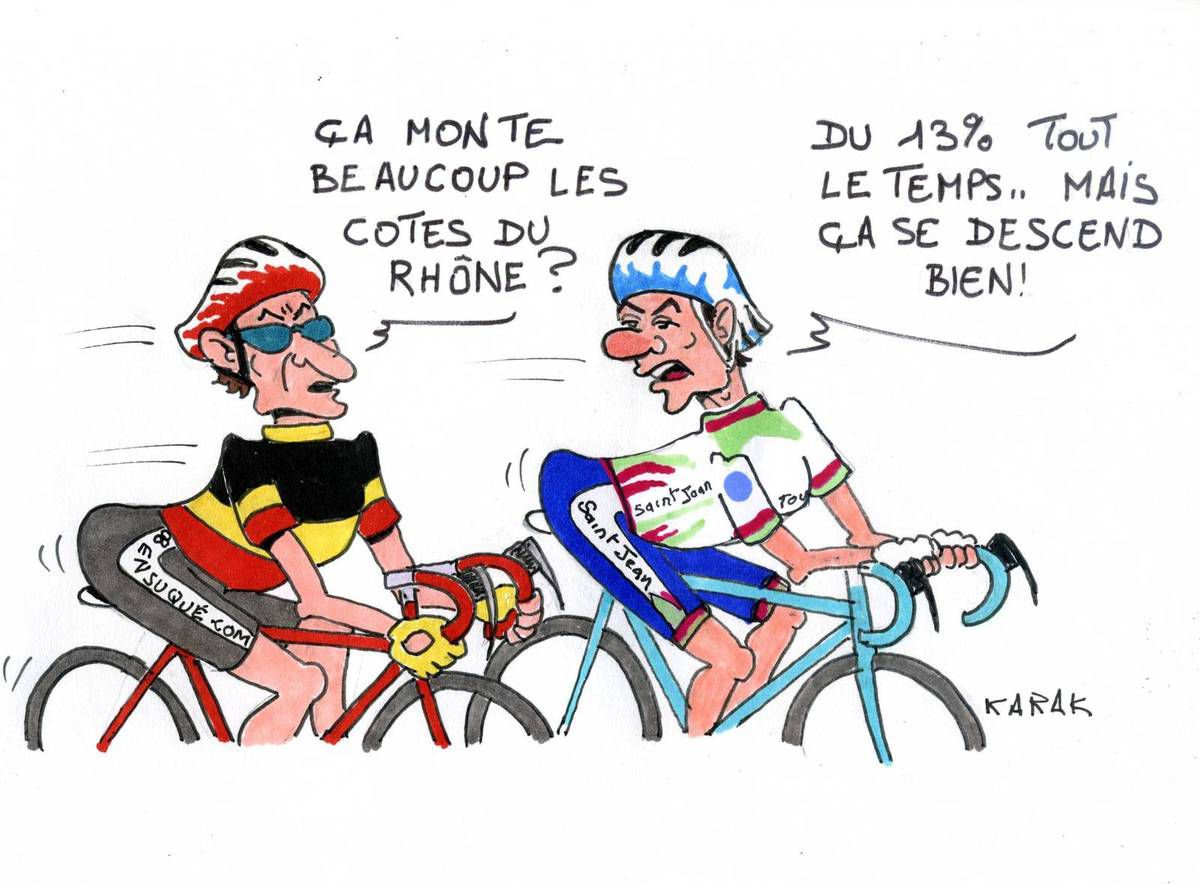 Humour cyclo best of anti k - Dessin cycliste humoristique ...