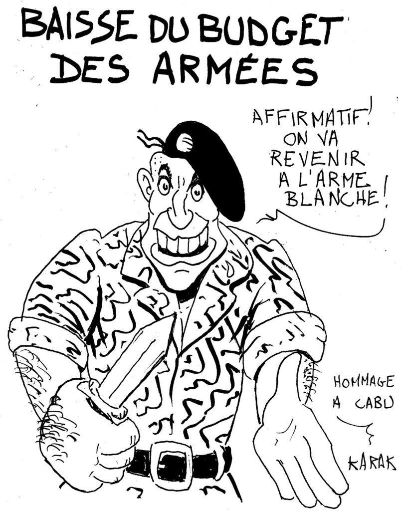 Des armées désarmées...