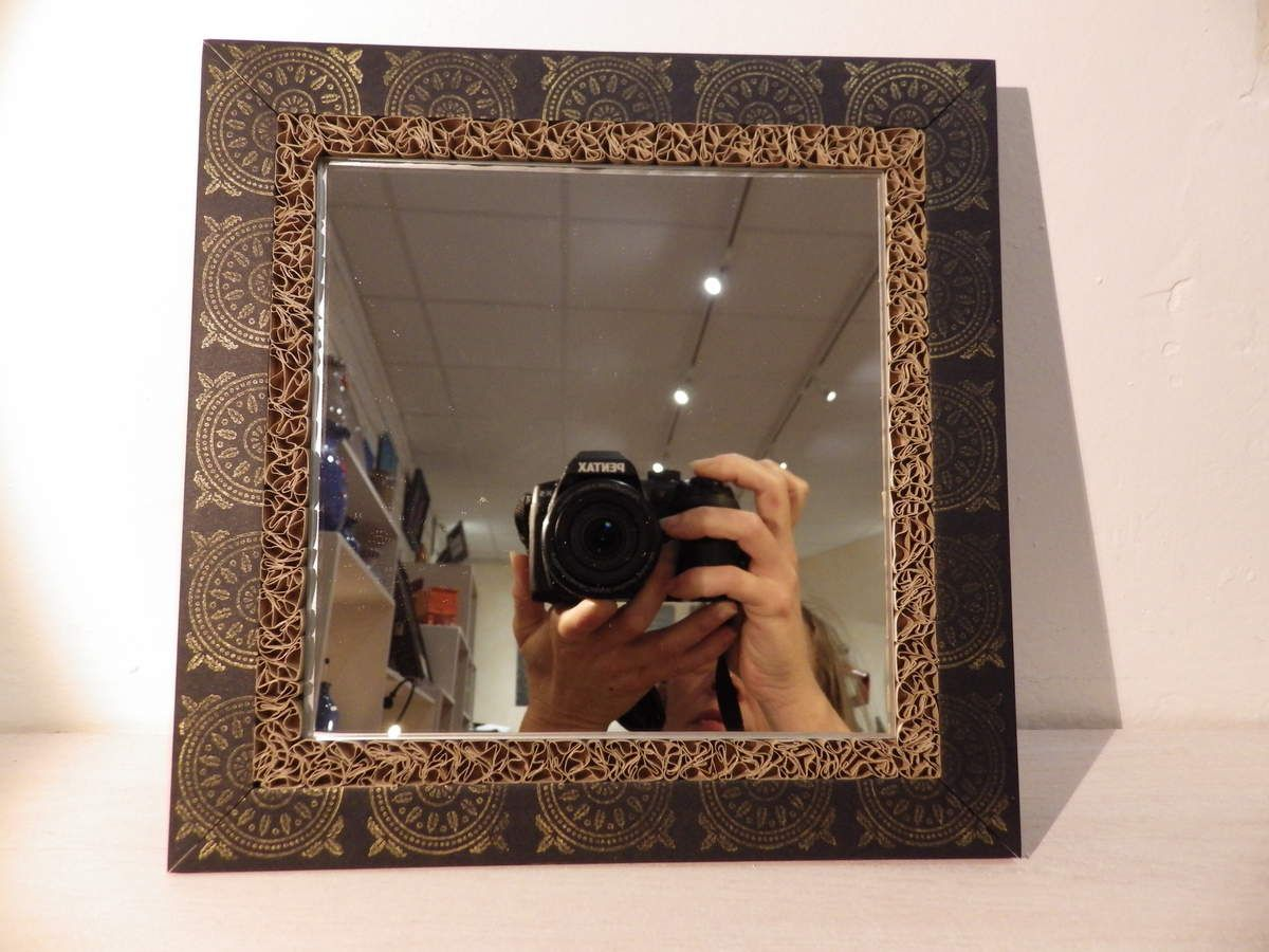 Nouvelle série de miroirs, tampons, encre de chine