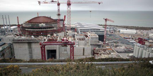 l'EPR en construction à Flamanville
