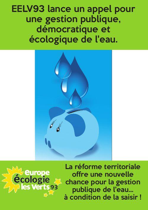 Pour une gestion publique, démocratique et écologique de l'eau