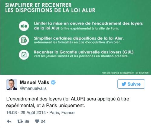 Loi Alur : le Conseil d'État confirme un « excès de pouvoir » de Manuel Valls