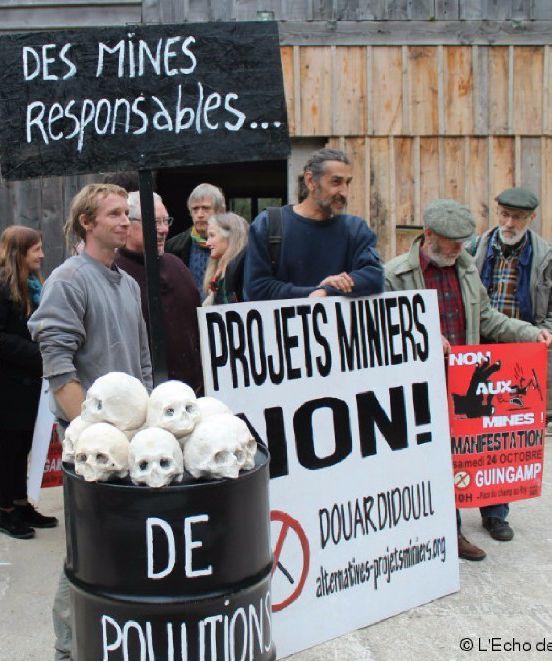 Lettre ouverte à Nicolas Hulot et Bruno Le Maire pour l'abrogation du permis minier de Merléac