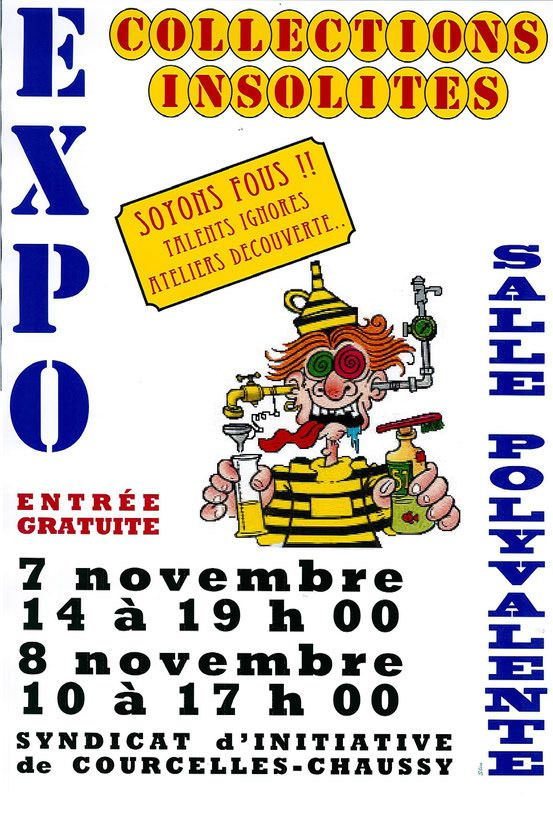 Le 7 & 8 novembre 2015 A.L.C.O. Exposera à Courcelles-Chausy
