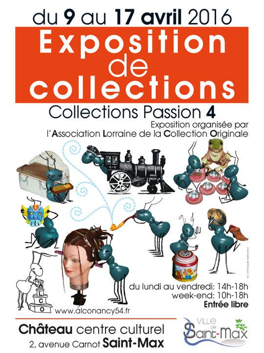 l'A.L.C.O. reprend son exposition Collection passion