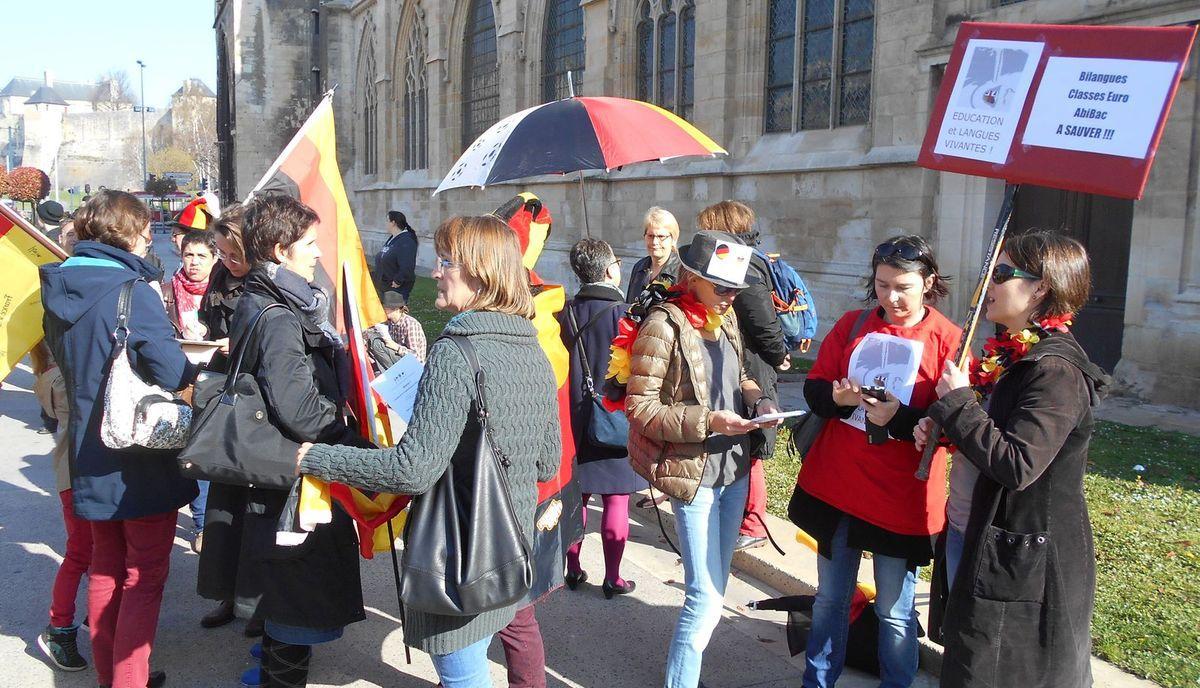 Manifestation contre la loi Macron 9 avril 2015 caen