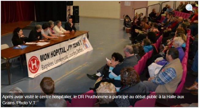 Bagnère de Bigorre : Une forte mobilisation pour le maintien des urgences