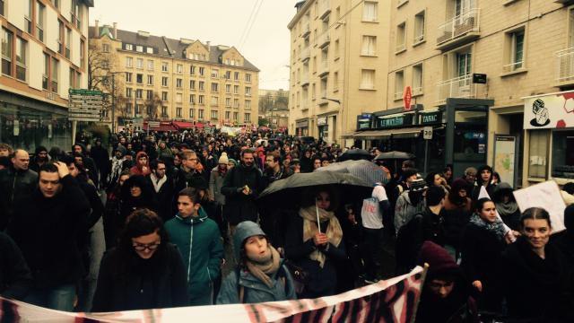 Loi travail. Plus de 3 000 manifestants à Caen