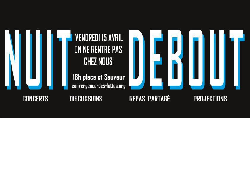 nuit debout dans caen le blog de sud chu caen. Black Bedroom Furniture Sets. Home Design Ideas