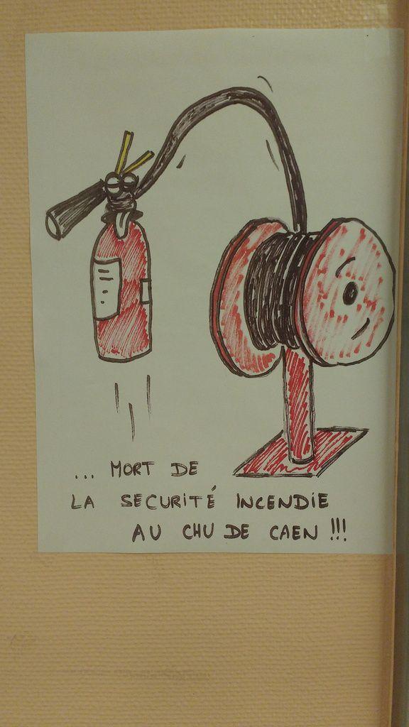 CHU CAEN: Grève Ssiap