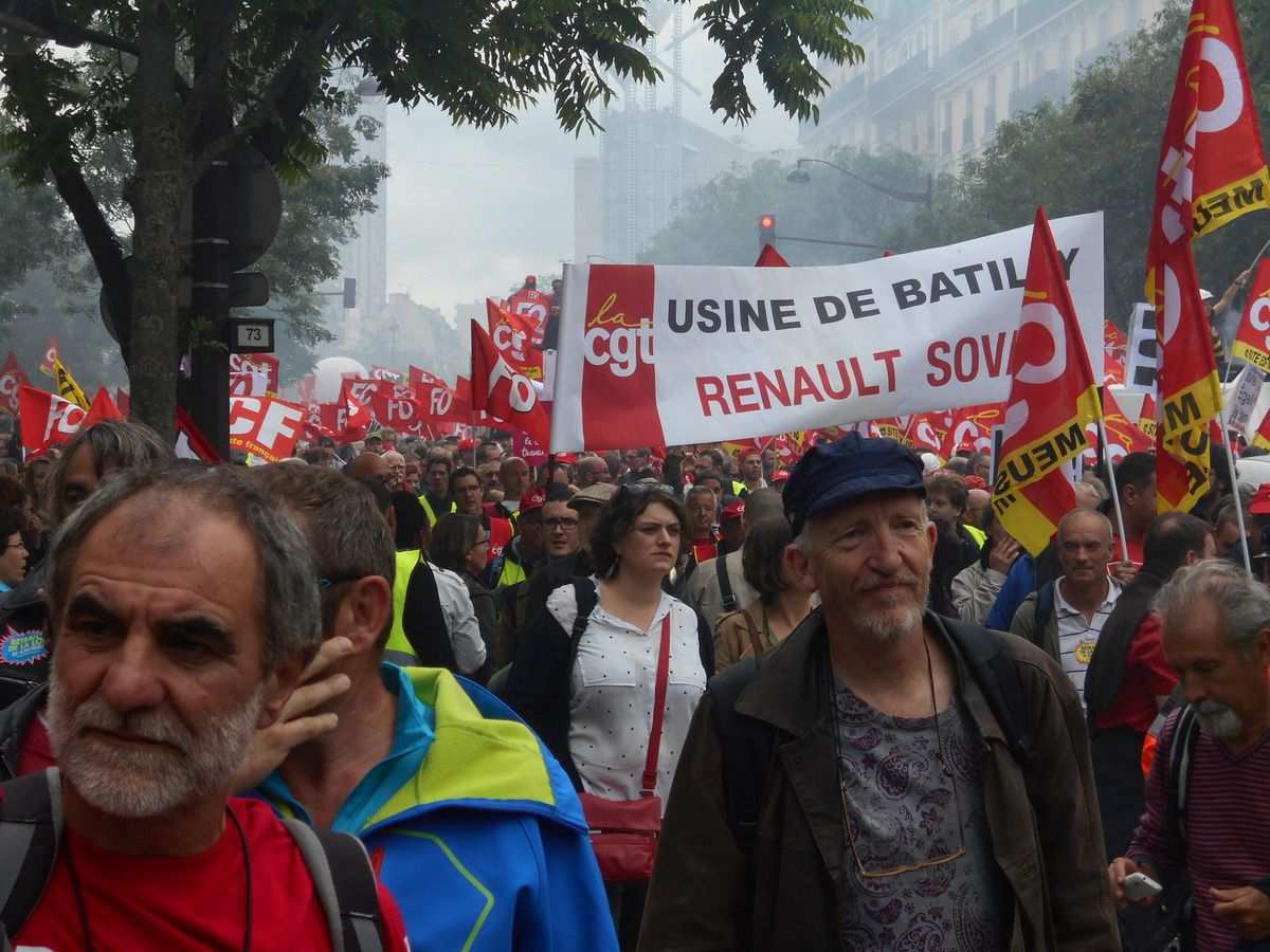 Manifestation nationale 14 juin Paris