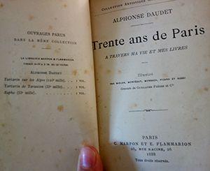 Alphonse Daudet - Trente ans de Paris (1888)
