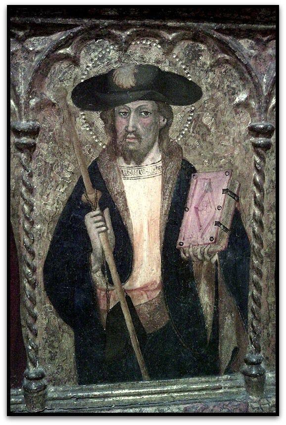 Saint Jacques de Compostelle en Pèlerin à Paris