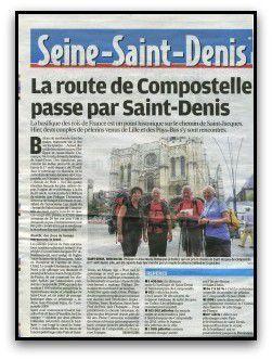 Saint Denis Compostelle et la Lumière