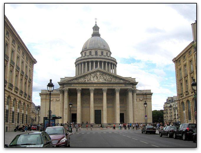 De l'angle rue Saint Jacques - rue Soufflot