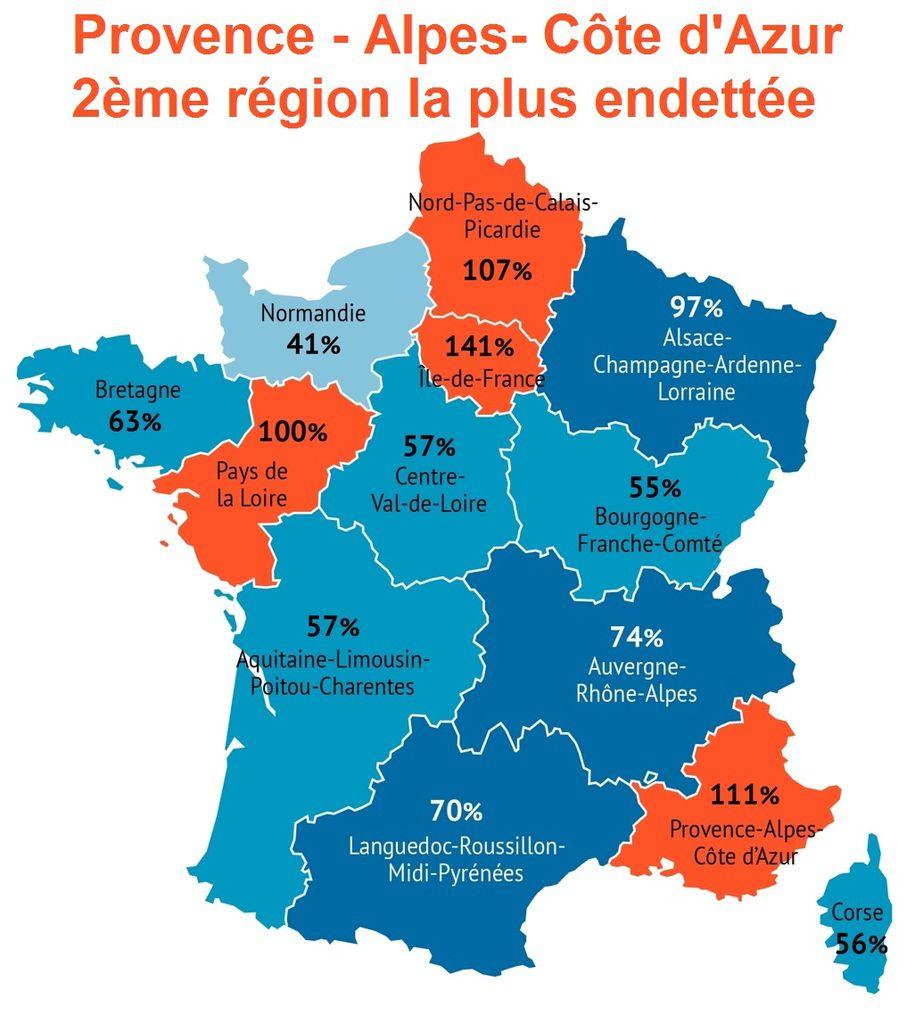 Finances régionales: l'héritage de la gauche