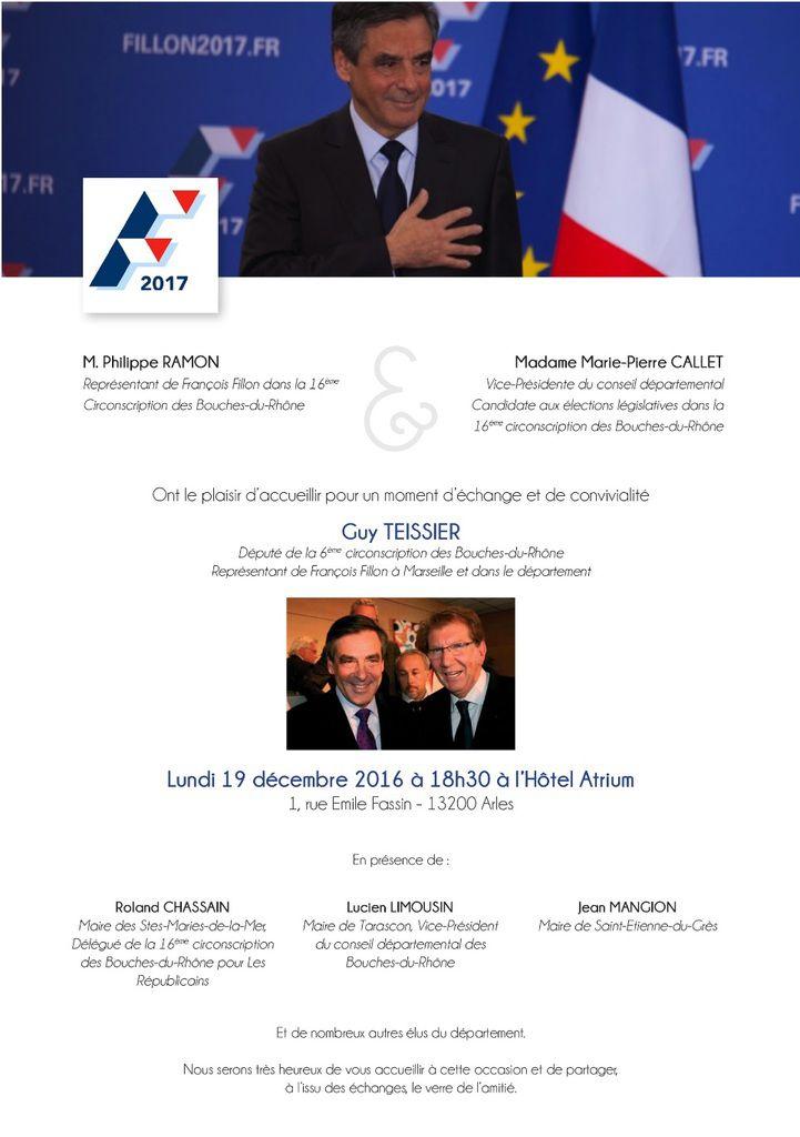 Lundi 19 décembre, réunion publique