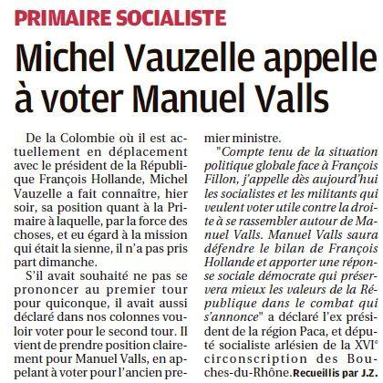 Primaires PS dans le Pays d'Arles