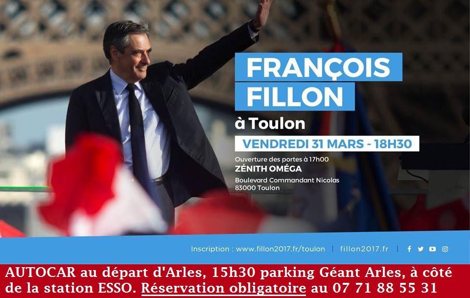 François Fillon à Toulon.