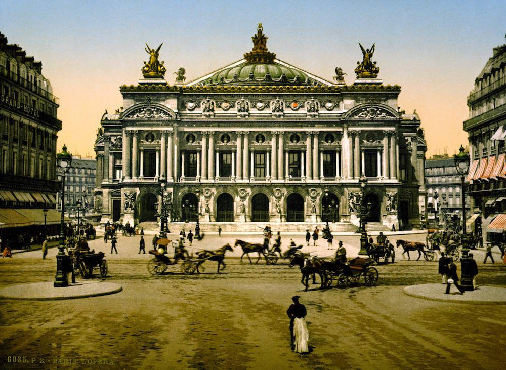 Opera House, Paris, France ca. 1890-1900