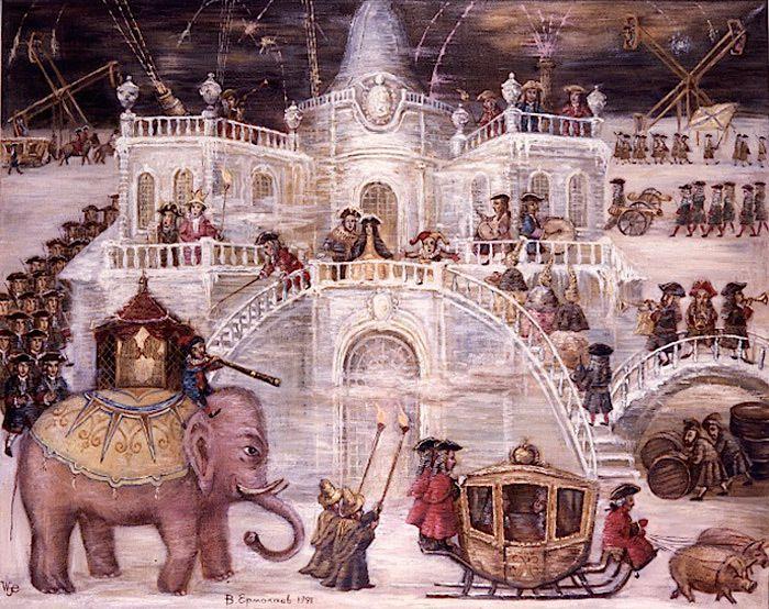 Le Palais de Glace de l'Impératrice Anna Ivanovna
