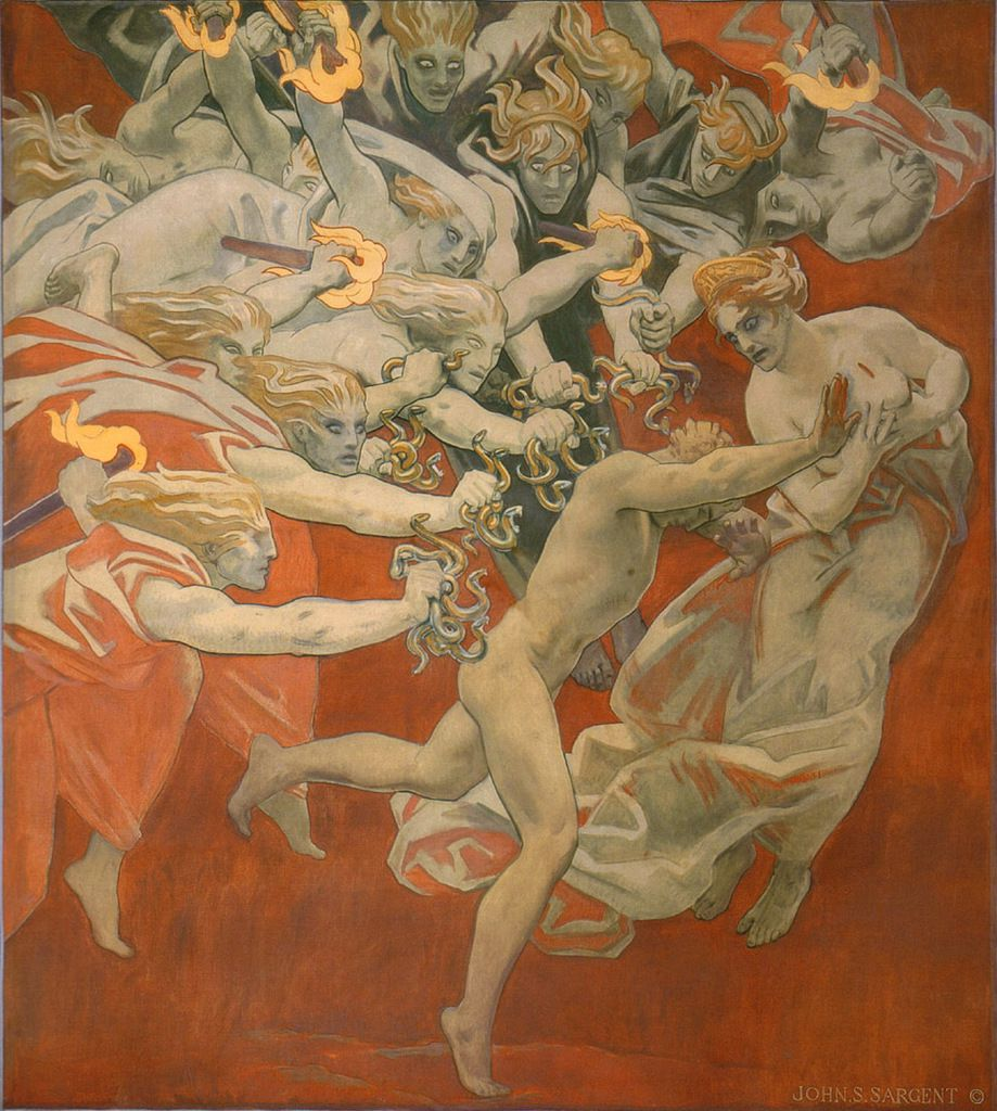 Orestes Pursued by the Furies, John Singer Sargent (1921)