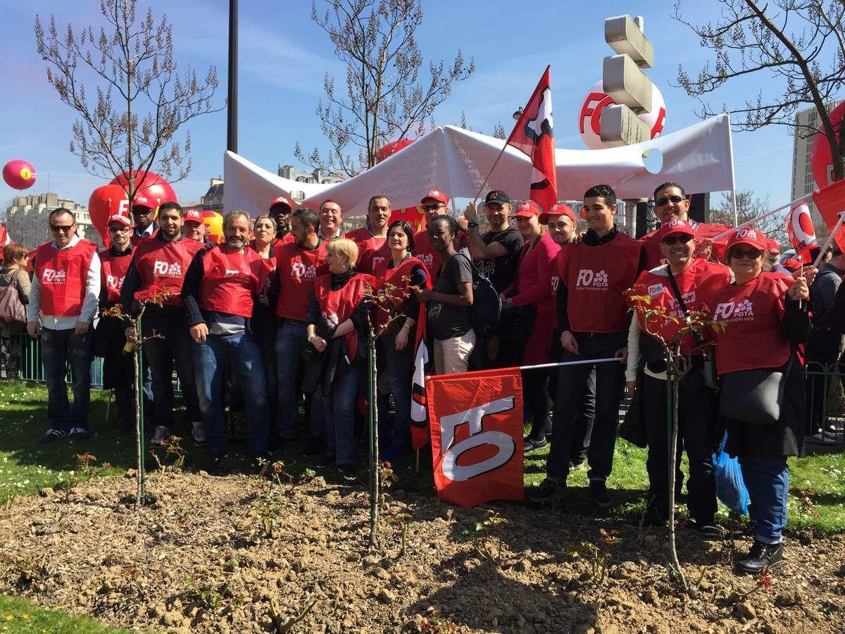 FO Accor vous informe:Grèves et manifestations contre l'austérité, la loi Macron, pour la hausse des salaires