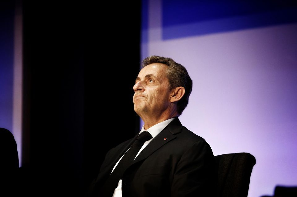 Nicolas Sarkozy à Paris, le 27 septembre. Photo Denis Allard / REA pour Libération.
