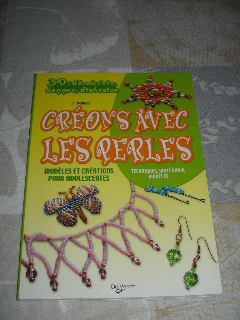 Livres créatifs : Bijoux / perles