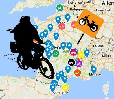 relais road trip roadtrip mobylette voyage accueil cyclo solex hebergement trace ta route