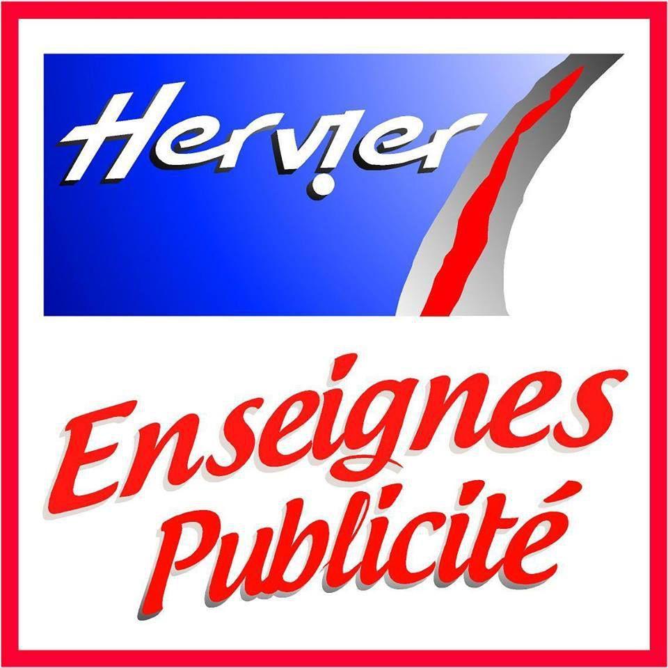 hervier enseignes publicité road trip mobylette
