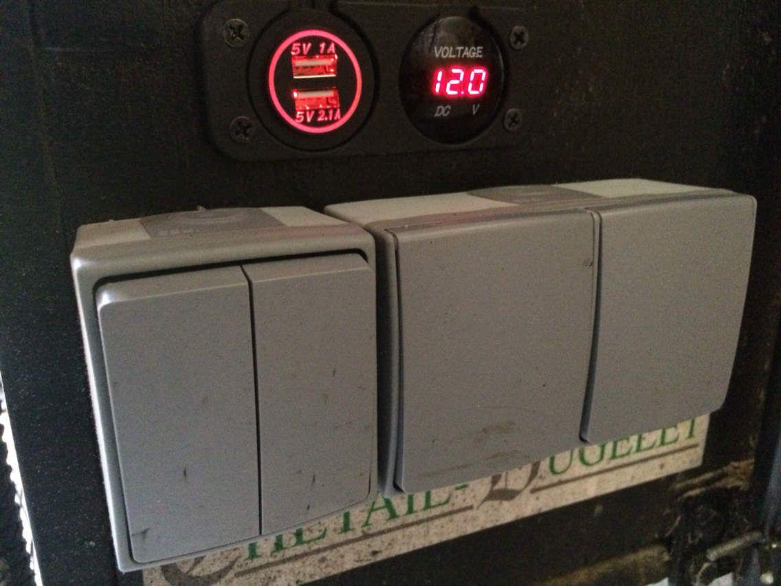mobylette remorque autonome électricité panneau solaire 12v road trip voyage fabriquer