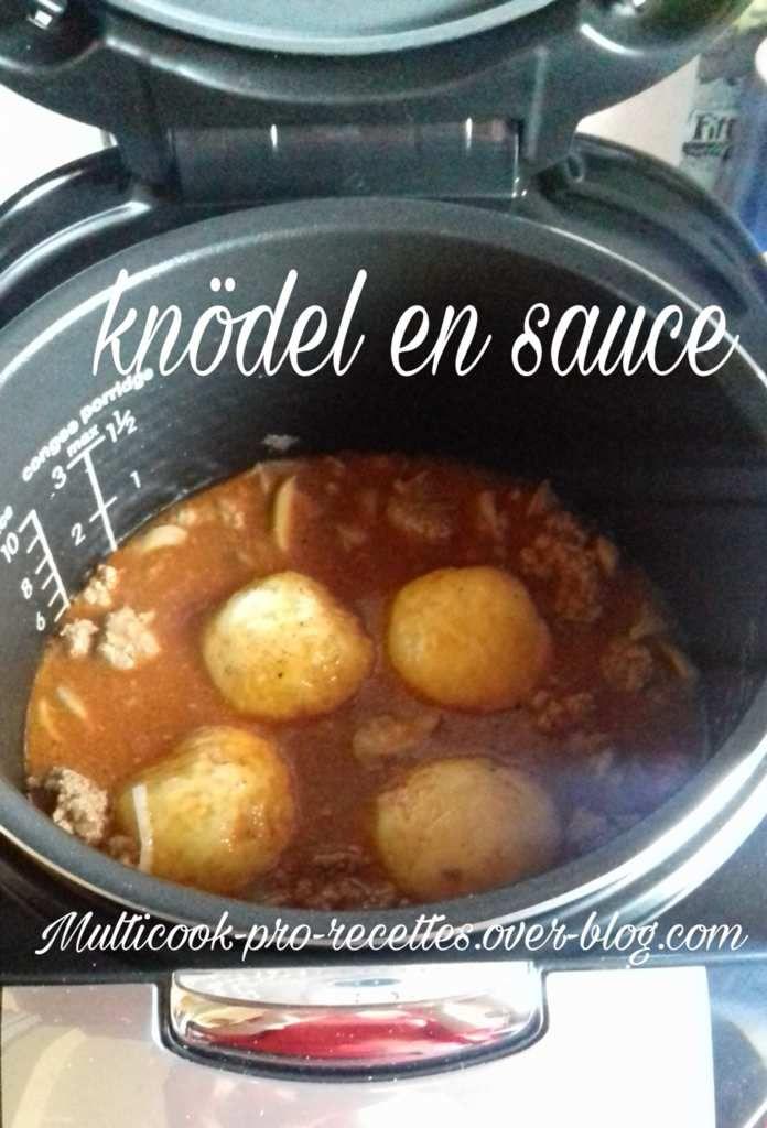 Knödel en sauce