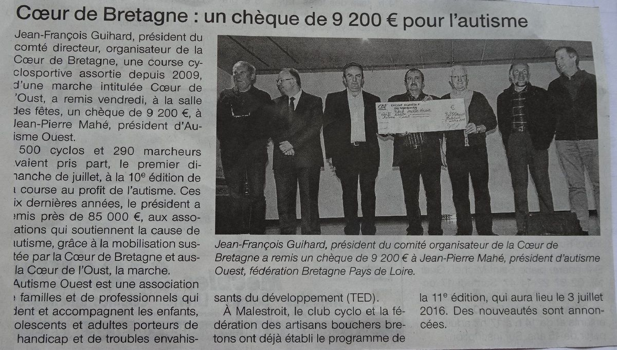 o - Ouest France ( 14 10 2015 )