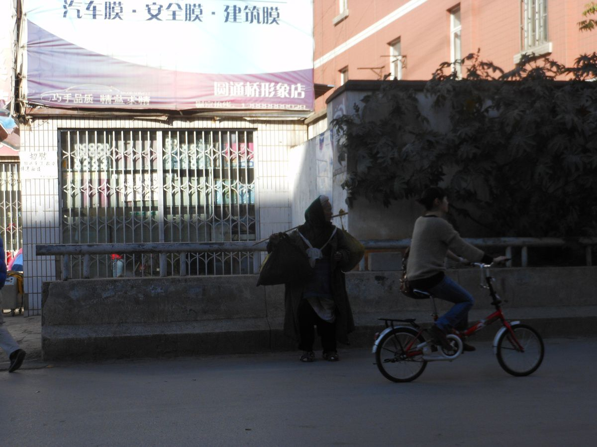Kunmig. Yunnan. Chine. Janvier 2012. . © Jean-Louis Crimon