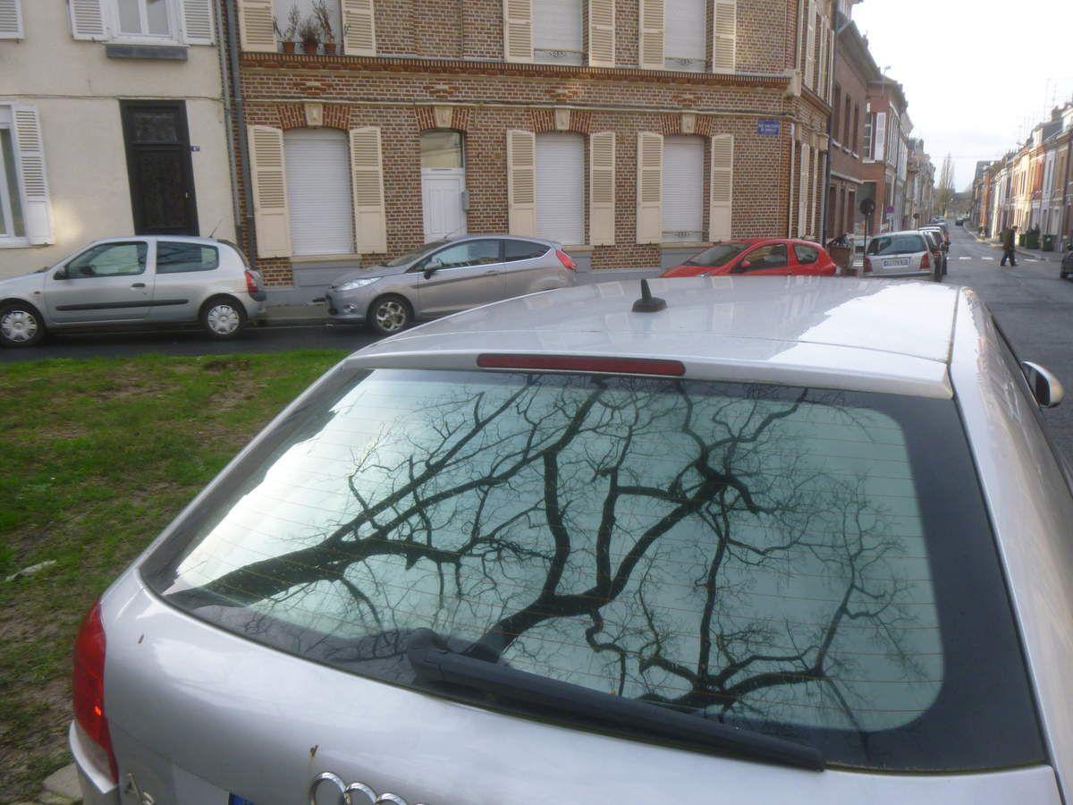 Amiens. Rue Lenôtre. 14 Février 2016. © Jean-Louis Crimon