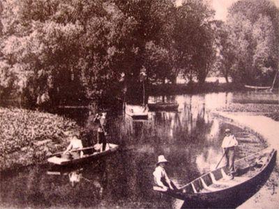 Amiens. Hortillonnages. Île Robinson. Archives. © DR.