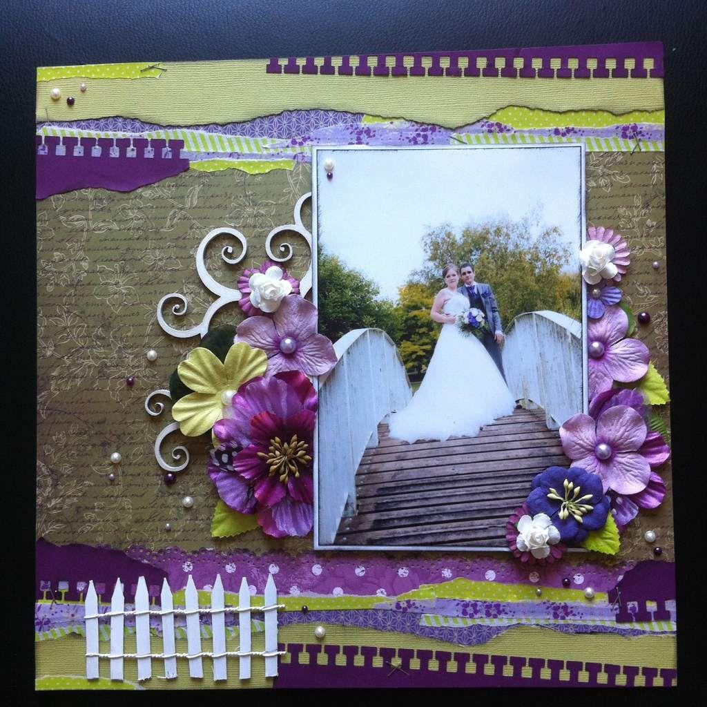 page verte et violette
