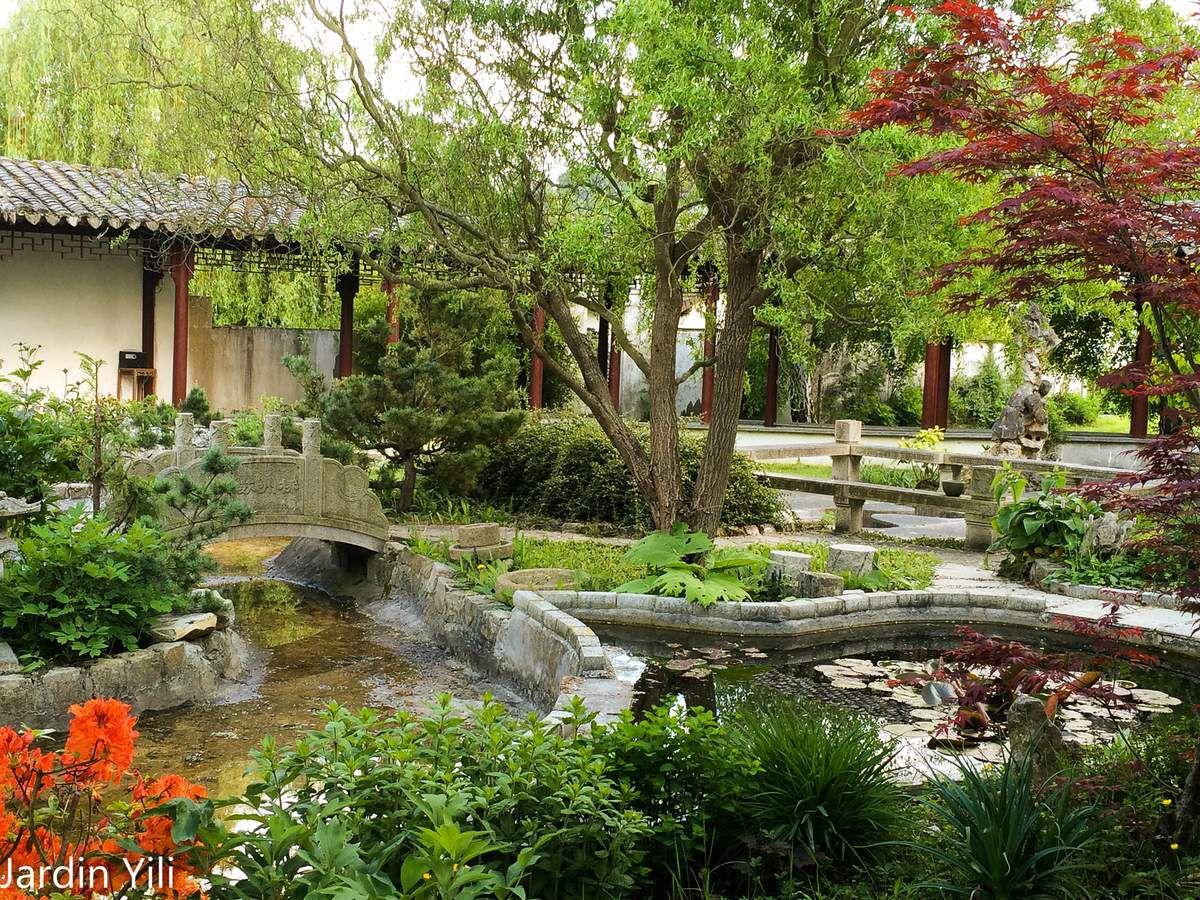 Mercredi 6 mai visite du jardin yili pr s de rambouillet for Visite de rambouillet